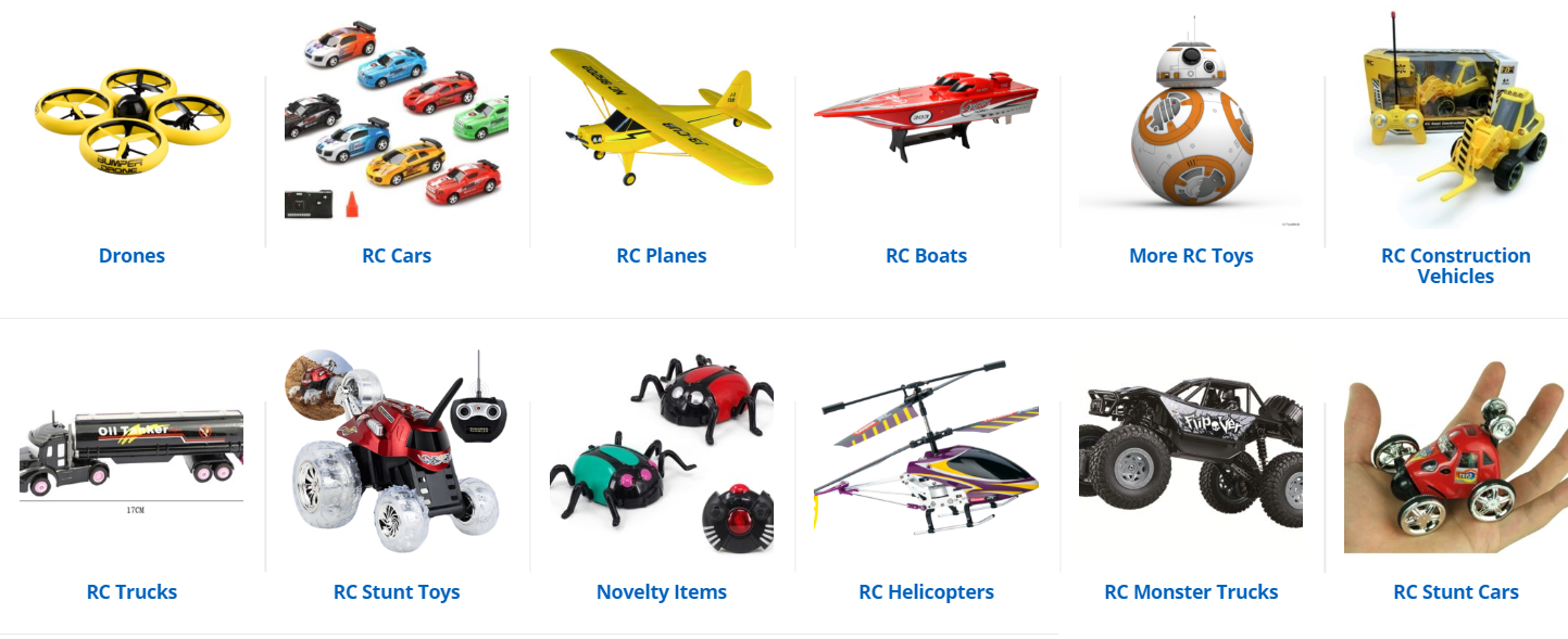 rc toy wholesale